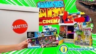 Caixa Surpresa De Brinquedos Os Jovens Titãs em Ação! Nos Cinemas