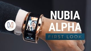Nubia Alpha First Look: A Wearable Smartphone With A Flexible Display