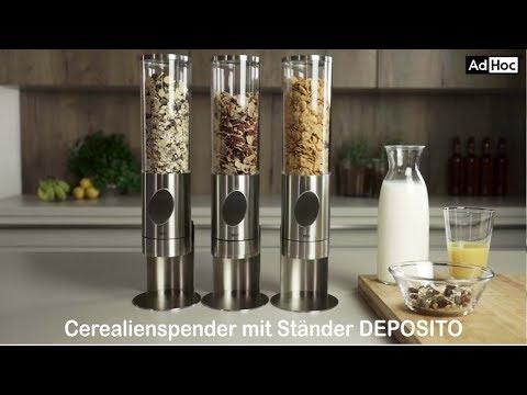 Cerealienspender mit Ständer DEPOSITO von AdHoc, CS11