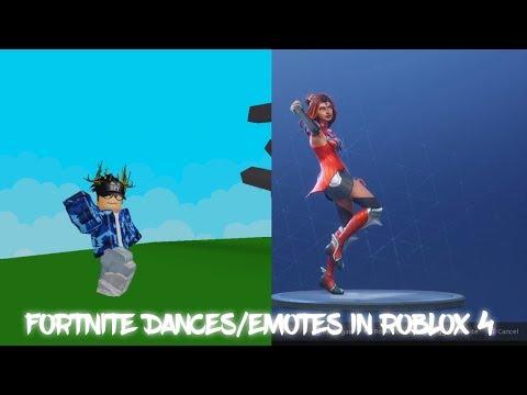 Fortnite Dances Emotes In Roblox 4