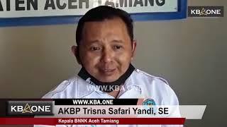 BNNK Tangkap DPO Narkoba dan Oknum Pegawai Kejari Aceh Tamiang