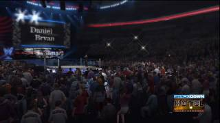 WWE '12 Daniel Bryan Updated Entrance [Video with Edited Theme]
