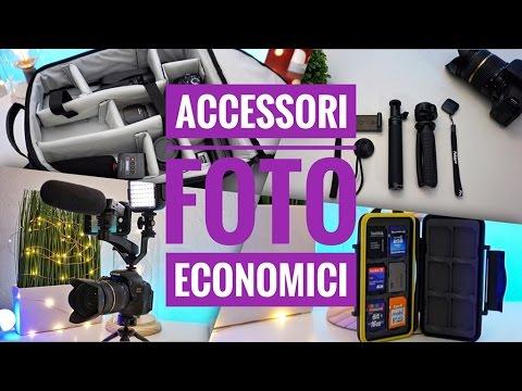 Accessori fotografici ECONOMICI - Aggiornare l'attrezzatura video RISPARMIANDO!