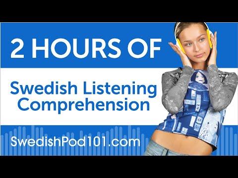 2 Hours of Swedish Listening Comprehension