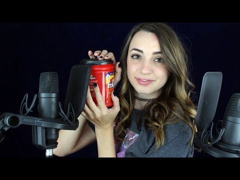 [ASMR] Tapping with Fingertips (& Binaural Ear-to-Ear Whispers)