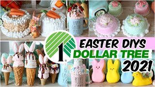 AMAZING DOLLAR TREE EASTER DIYS│ YOU'LL LOVE THESE CLEVER $1 DOLLAR STORE HACKS