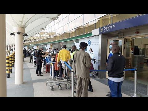 Hundreds of Chinese nationals rush to leave Kenya as international flights resume
