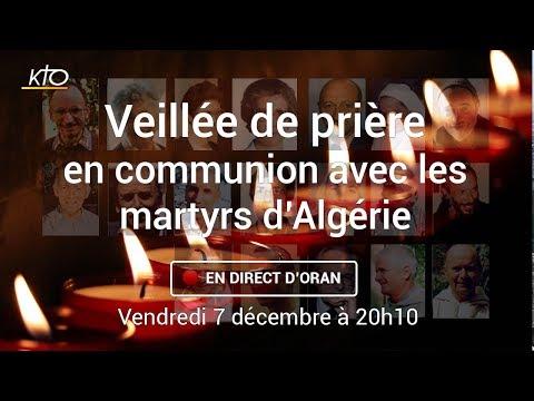 Veillée de prière en communion avec les martyrs d'Algérie