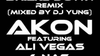 Akon feat. Nas & Ali Vegas - Shake Down (Official Remix) [Mixed by DJ Yung]