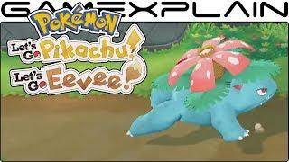 Pokémon Let's Go Pikachu & Eevee - 5 Pokémon Walking Animations Revealed (Venusaur, Golem, & More!)