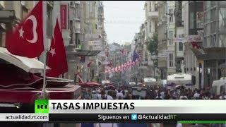 Turquía, nuevo país en responder a EE.UU. con aranceles a sus productos