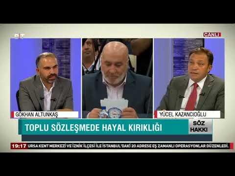 Genel Başkanımız Yücel KAZANCIOĞLU   '' Söz Hakkı '' programının konuğu oldu