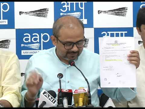 Aap Leader Dilip Pandey Exposes on BJP lies on Sealing and on the Issue of 351 roads
