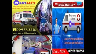 Life-Support and Reasonable Cost Ambulance Service in Patna and Ranchi