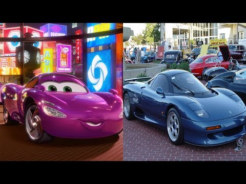 Cars 2 Characters In Real Life 2018 LIGHTNING MCQUEEN Cartoon For Kids Learn Cars