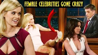 Craig Ferguson   Female Celebrities Continuously Flirting & Being Perverts(Part 2)😂😂