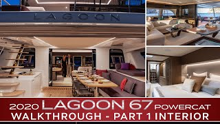 2020 Lagoon SIXTY 7 Power Catamaran In-Depth Walkthrough | PART 1: Interior