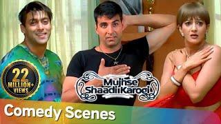Best Comedy Scenes   Hindi Superhit Movie Mujhse Shaadi Karogi   Akshay Kumar - Rajpal Yadav
