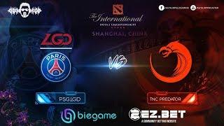 TNC Predator vs PSG.LGD  | Best of 2 | Group Stage | The International 9