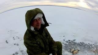 Ловля леща на каме зимой