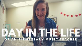 DAY IN THE LIFE // Elementary Music Teacher