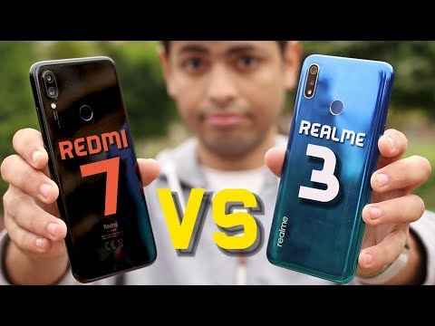 Xiaomi NOTE 7 vs Realme 3 | وحوش ال ٣٠٠٠ جنيه