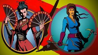 Игра Shadow Fight 2 Бой с тенью #29 мультик игра Оса и Сегун ВРАТА ТЕНЕЙ #КРУТИЛКИНЫ