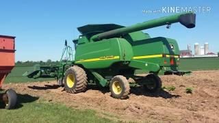 2016 corn harvest: Day 1 of combining corn