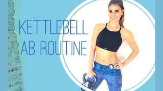 Kettlebell Ab Routine by K's Perfect Fitness TV