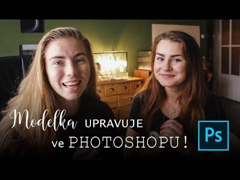 Modelka UPRAVUJE vlastní fotku ve PHOTOSHOPU! aneb učíme se základy w/Little Niky