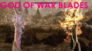Skyrim Special Edition Mod Review God of War Blades