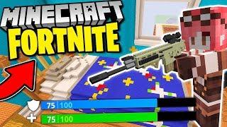 Minecraft ITA - FORTNITE NELLA CAMERETTA GIGANTE!!