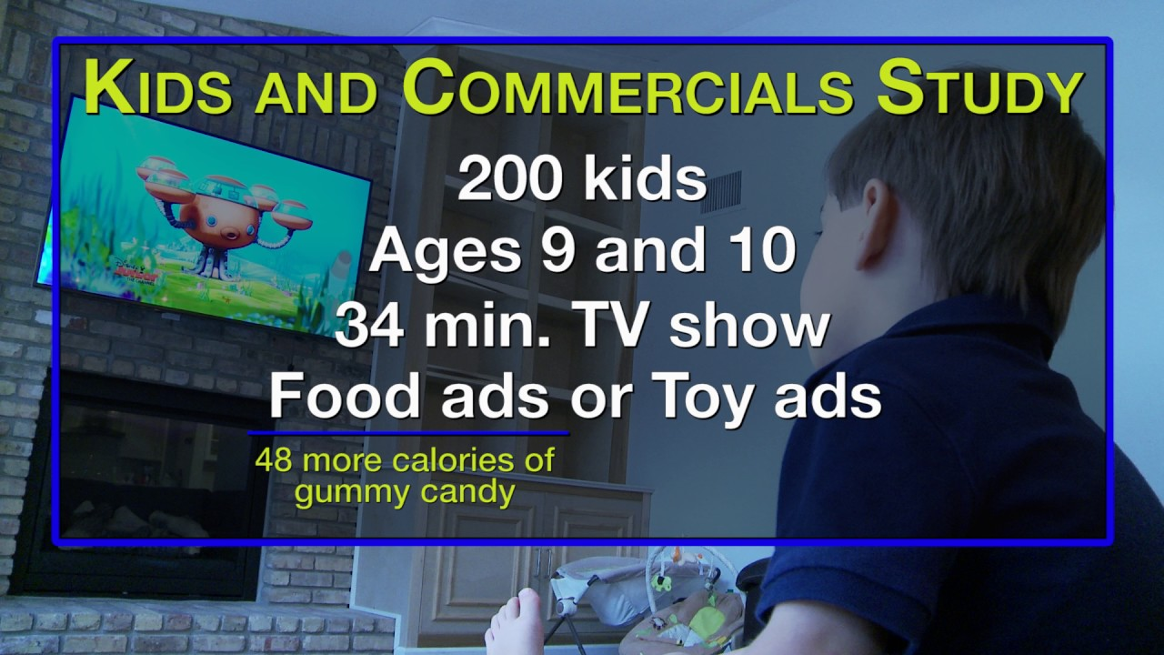 Ads Affect Kids' Food Choices