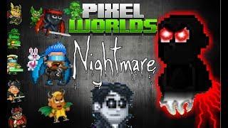 Pixel Worlds Nightmare Full Movie!