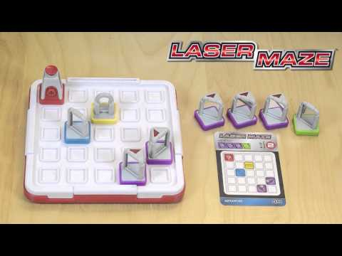 Youtube Video for Laser Maze Beam-Bending Logic Game