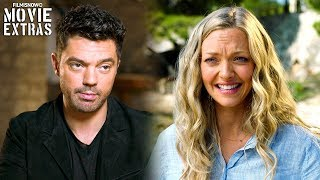 "MAMMA MIA! HERE WE GO AGAIN | On Set Visit With Amanda Seyfried ""Sophie"" & Dominic Cooper ""Sky"""