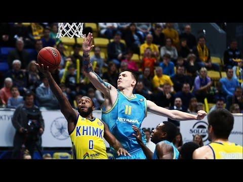 Khimki vs Astana Highlights Jan 15, 2017
