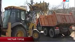 В Волгограде ликвидировали очередную крупную стихийную свалку