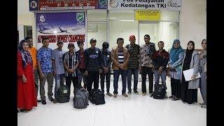 TKI yang Kabur dari Malaysia kini Dipulangkan ke Aceh