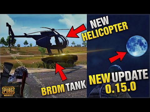 PUBG Mobile New Update 0.15.0 Beta Version Out | New Payload Mode,  BRDM Tank & More