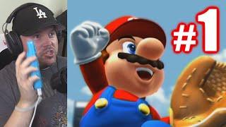 MY FIRST WII GAME! | Mario Super Sluggers #1