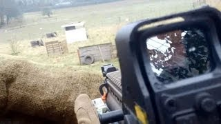 preview picture of video 'First Person Airsoft - TM SCAR-L @ X-Site: The Outpost'