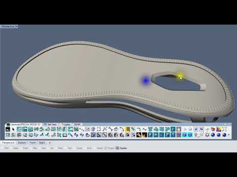 FOOTWEAR SHOES DESIGN 3D