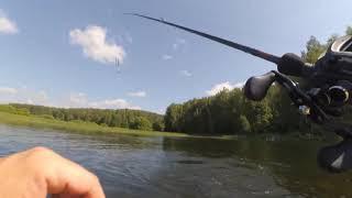 Плотик рыболовный с веслами