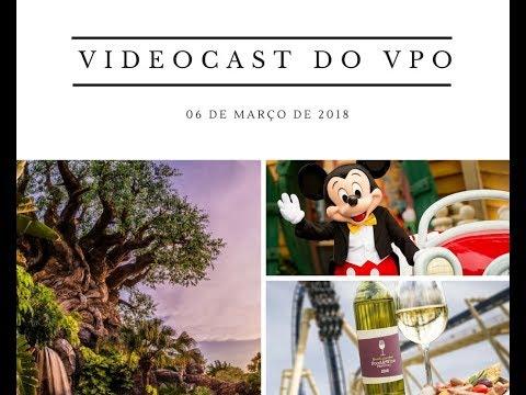 Videocast do Viajando para Orlando - 06 de março de 2017