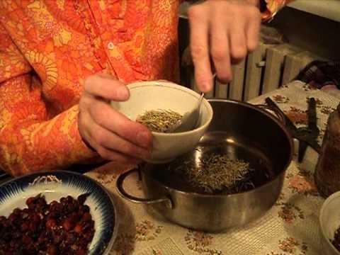 Сосновые иголки, плоды шиповника и луковая шелуха - природные целители