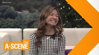 Angelica Hale of 'America's Got Talent' talks about reaching a million subscribers on YouTube