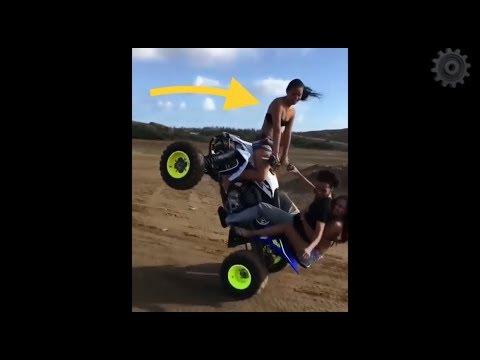 Stunt Motor Gagal dan Perih Untuk di Tonton