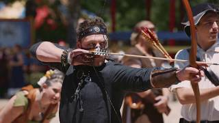 Sherwood Forest Faire Archery   Full Length