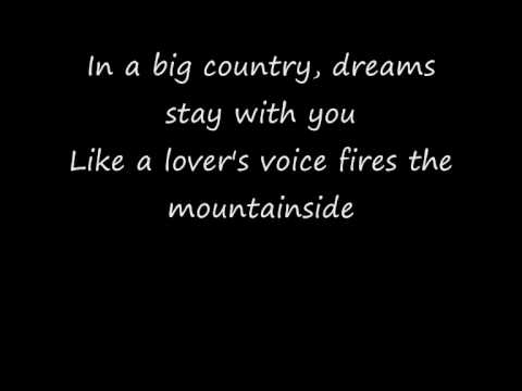 In a Big Country (1983) (Song) by Big Country